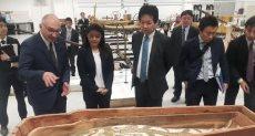 مستشار رئيس الوزارء اليابانى يزور المتحف المصري الكبير
