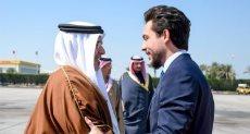 ولى عهد الأردن وملك البحرين