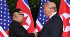 الرئيس الأمريكى وزعيم كوريا الشمالية