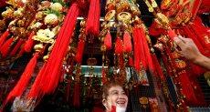 جانب من الاحتفالات فى الصين