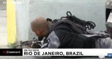 حرب شوارع بين الشرطة البرازيلية ومهربى المخدرات