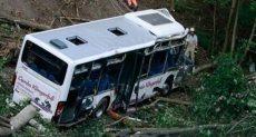 سقوط حافلة