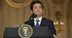 شينزو آبى رئيس وزراء اليابان