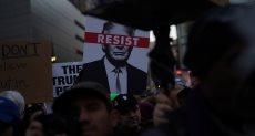 مظاهرات ضد ترامب فى الولايات المتحدة