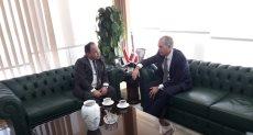 وزير المالية وسفير الدانمارك بالقاهرة