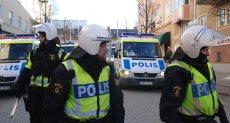 قوات الأمن السويدية