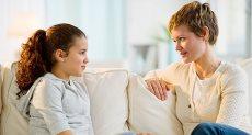الحديث مع الأطفال