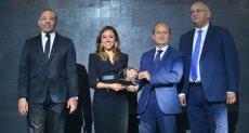 """تكريم سارة يوسف رئيس قطاع الاتصالات بشركة """"بيبسكو"""" مصر"""
