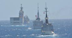 فاعليات التدريب البحرى المصرى الفرنسى