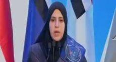 شيماء عبد السميع، أرملة الشهيد عقيد أركان حرب مصطفى أحمد الوتيدى