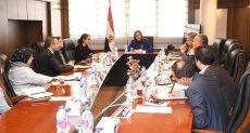 وزيرة التخطيط تلتقي مديرة مكتب البنك الدولي بالمنطقة
