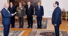الرئيس عبد الفتاح السيسي و اللواء كامل الوزير - أرشيفية