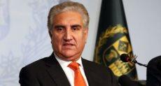 شاه محمود قريشى وزير الخارجية الباكستانى