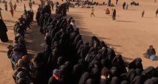 زوجات مسلحى داعش فى الباغوز
