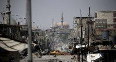 الدمار فى العراق - أرشيفية