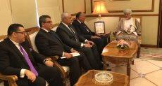 وزير الخارجية المصري يلتقى وزير خارجية سلطنة عمان