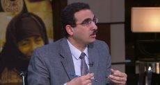 أيمن شبانة أستاذ العلوم السياسية بجامعة القاهرة
