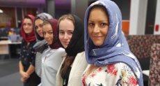 نساء نيوزيلندا ينشرن صورهن بالحجاب