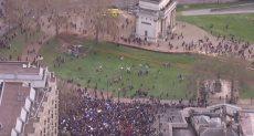 تظاهرات في لندن