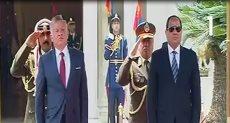 مراسم استقبال الملك عبد الله