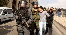 اعتقال شباب فلسطينى - ارشيفية