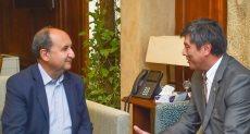 عمرو نصار يلتقي سفير أوزبكستان في مصر