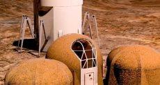 منازل البشر على المريخ