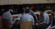 نجوم الأهلي فى مطار القاهرة