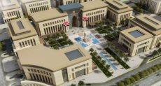 مباني الحي الحكومي بالعاصمة الإدارية