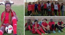 فتيات الصعيد فى ملاعب كرة القدم