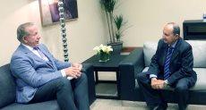 رئيس وزراء كوسوفو يلتقي عمرو نصار