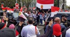 الجالية المصرية فى امريكا