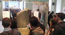 العالم يقف احتراما للأثار المصرية في المتحف البريطاني بلندن