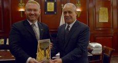 جريج لويس سفير نيوزلندا بالقاهرة