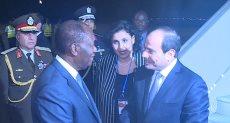 وصل الرئيس عبد الفتاح السيسى، إلي أبيدجان