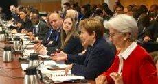 سحر نصر تشارك باجتماعات البنك الدولي