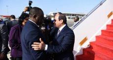 زيارة الرئيس السيسى لدولة السنغال