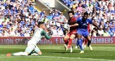 محمد صلاح في مباراة ليفربول