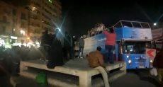 رقص وغناء بميدان التحرير احتفالا باستفتاء تعديل الدستور