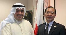 سفير اليابان يستقبل أحمد إسماعيل بهبهانى