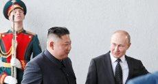 زعيم كوريا الشمالية كيم جونج أون وبوتين