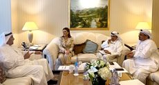 لقاء وزيرة الاستثمار بالصندوق الكويتى