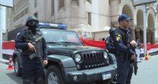 قوات الشرطة تؤمن احتفالات عيد القيامة