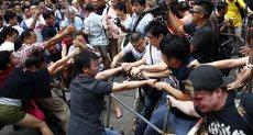 مظاهرات فى هونج كونج