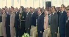 الرئيس السيسى يغادر مقر الاحتفال بعيد العامل