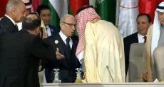 الملك سلمان والرئيس التونسى الباجى قايد السبسى