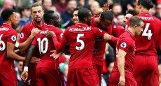 ليفربول يتصدر ترتيب الدوري الإنجليزي