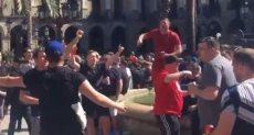 جماهير ليفربول فى برشلونة