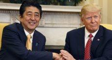 رئيسا أمريكا واليابان