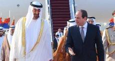 السيسى ومحمد بن زايد